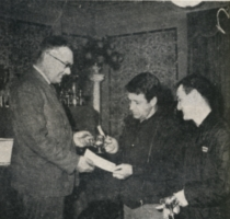 Second overall prizegiving